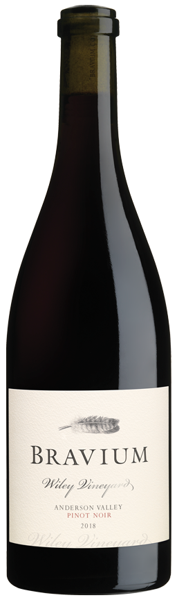 2018 Wiley Vineyard Pinot Noir bottle